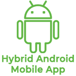 Hybrid Android mobile app